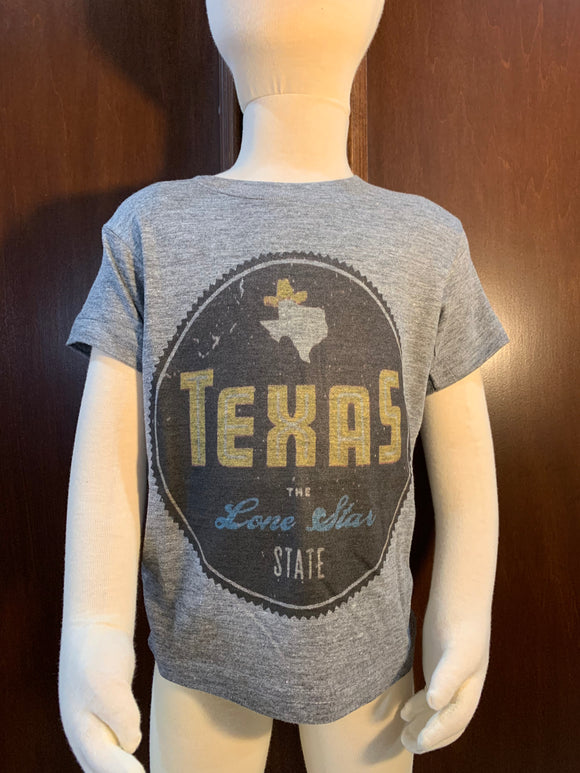 Grey Texas Seal Tee