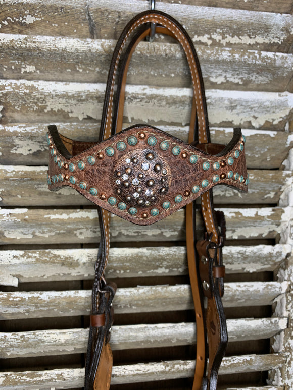 Diamond Cut Headstall