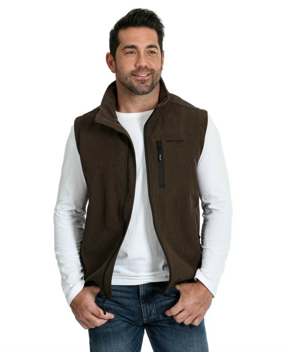 Men's Heather Brown Trail Vest