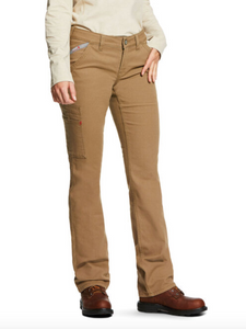 FR Stretch DuraLight Canvas Stackable Straight Leg Pant