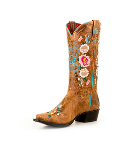 """NEVER PROMISED YOU A ROSE GARDEN"" Womens Boots"
