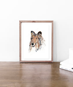 Reveille Watercolor - Original Art Print