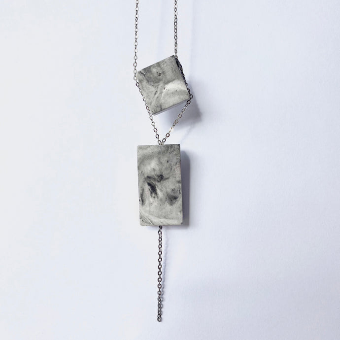 One-of-a-Kind Concrete Pendant