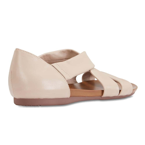 Abel Sandal in Nude Leather