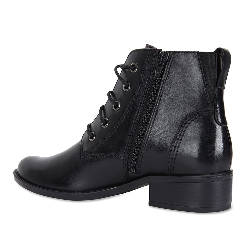 Adrian Boot in Black Leather