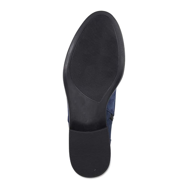 Adrian Boot in Navy Nubuck