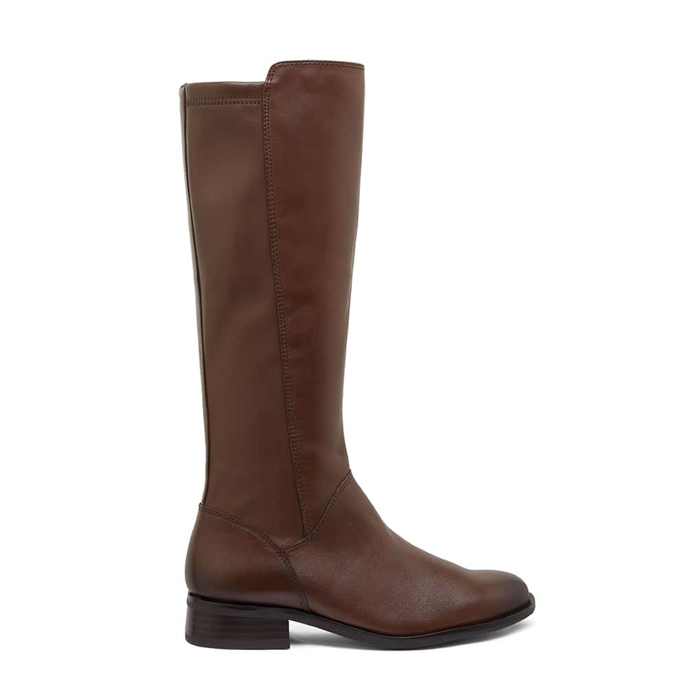 Alastair Boot in Brown Leather