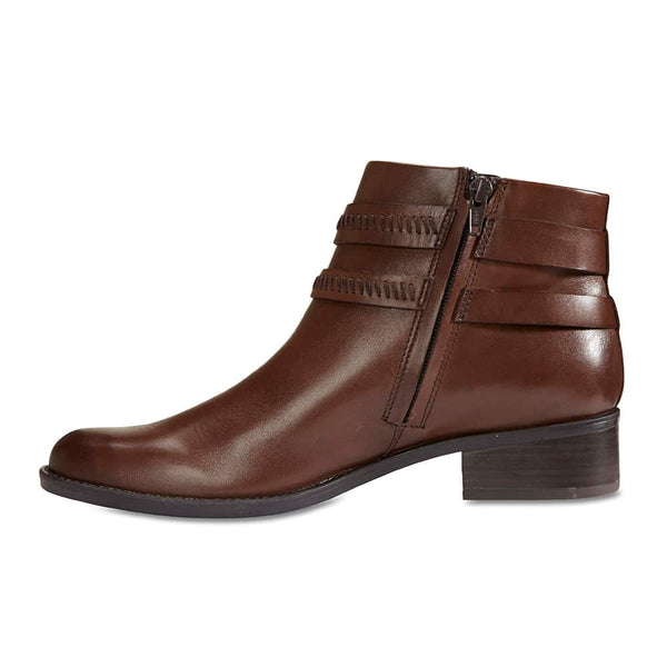 Albany Boot in Brown Leather