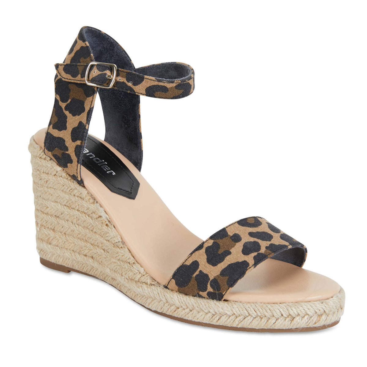 Audrey Espadrille in Animal Fabric