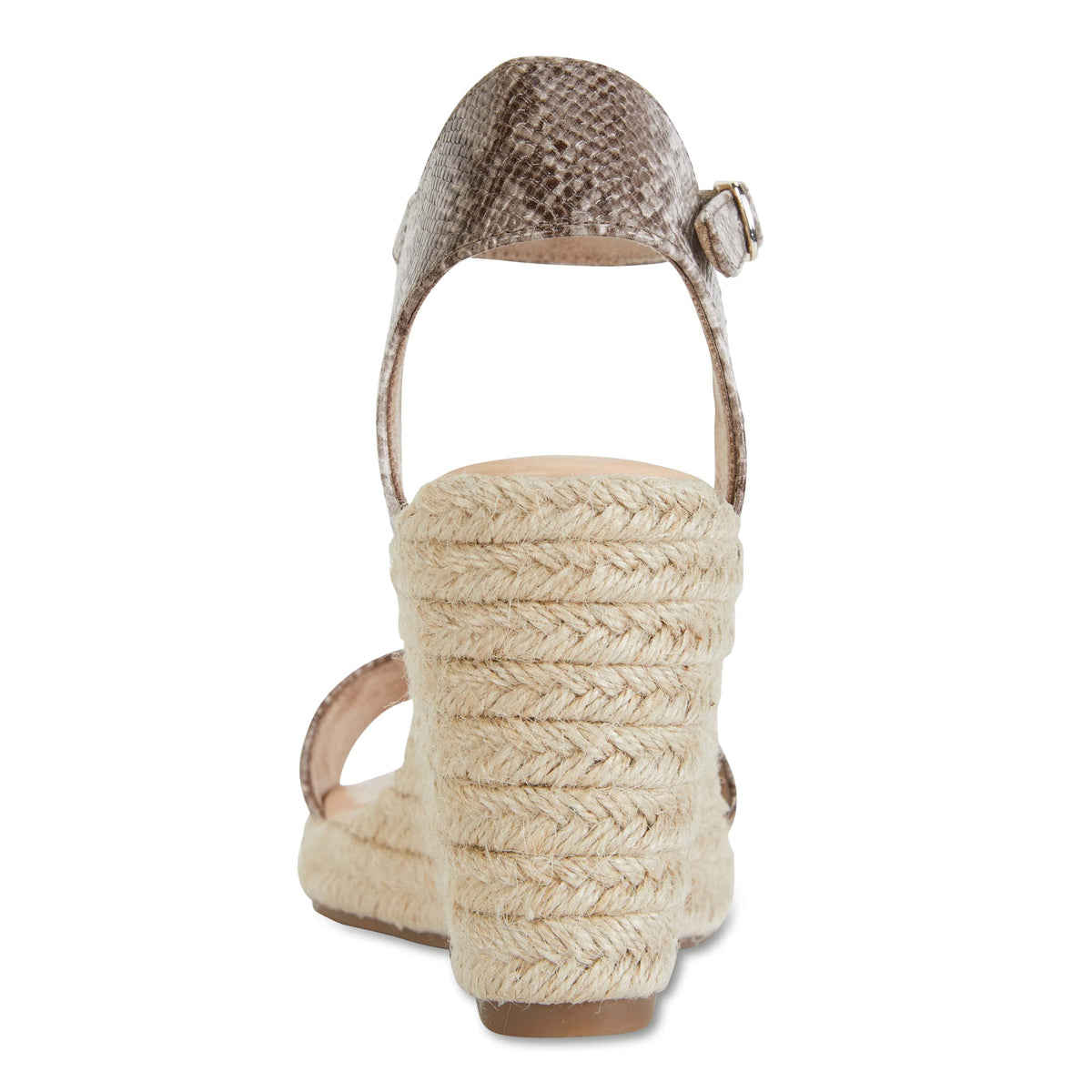 Audrey Espadrille in Snake Smooth