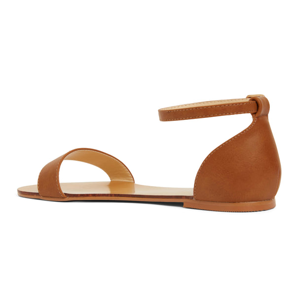 Babco Sandal in Tan Smooth