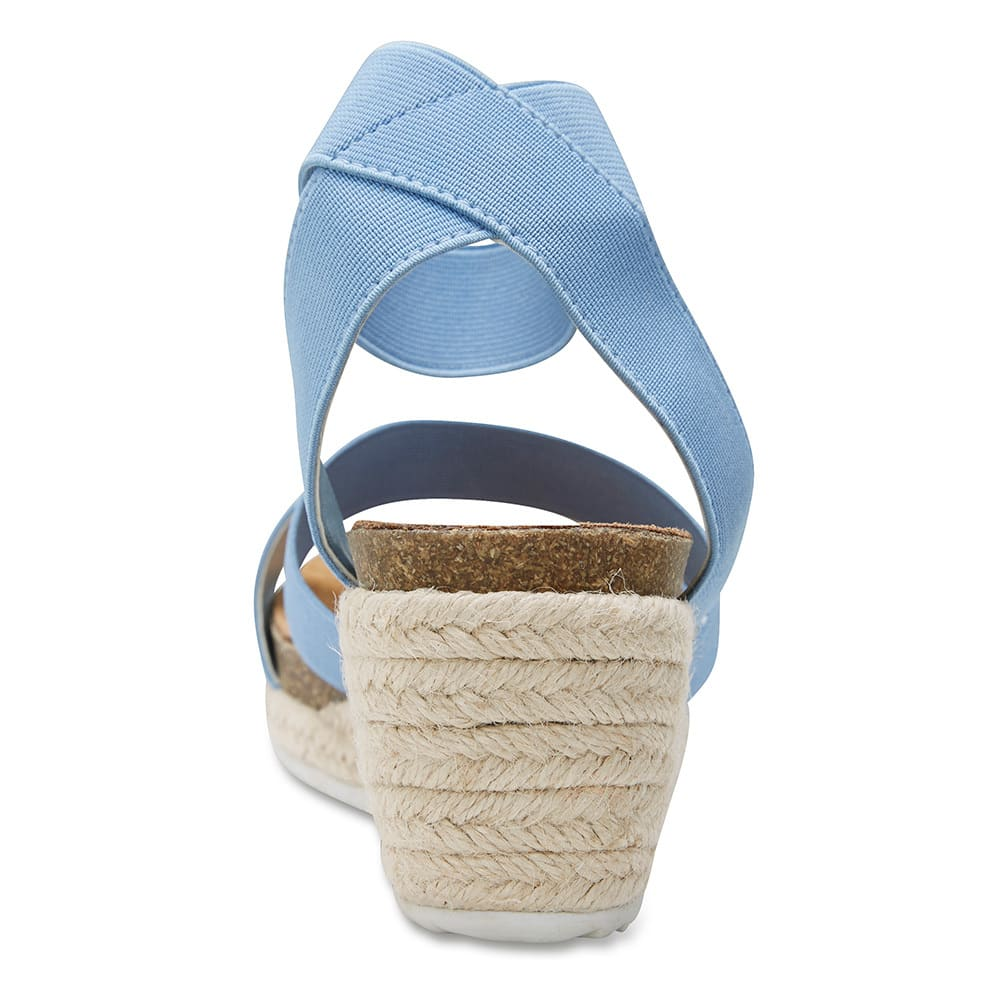 Babe Espadrille in Blue Fabric