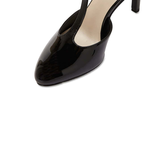 Babylon Heel in Black Patent