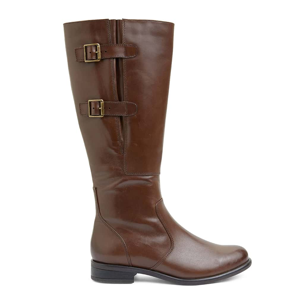 Bachelor Boot in Brown Leather