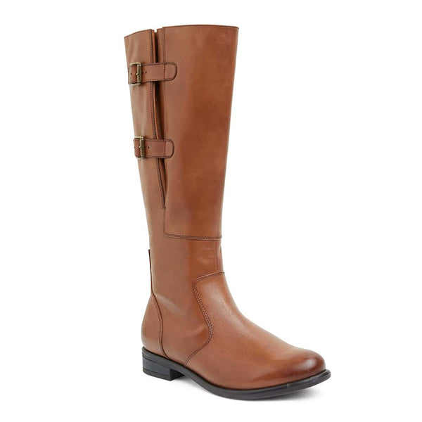 Bachelor Boot in Mid Brown Leather