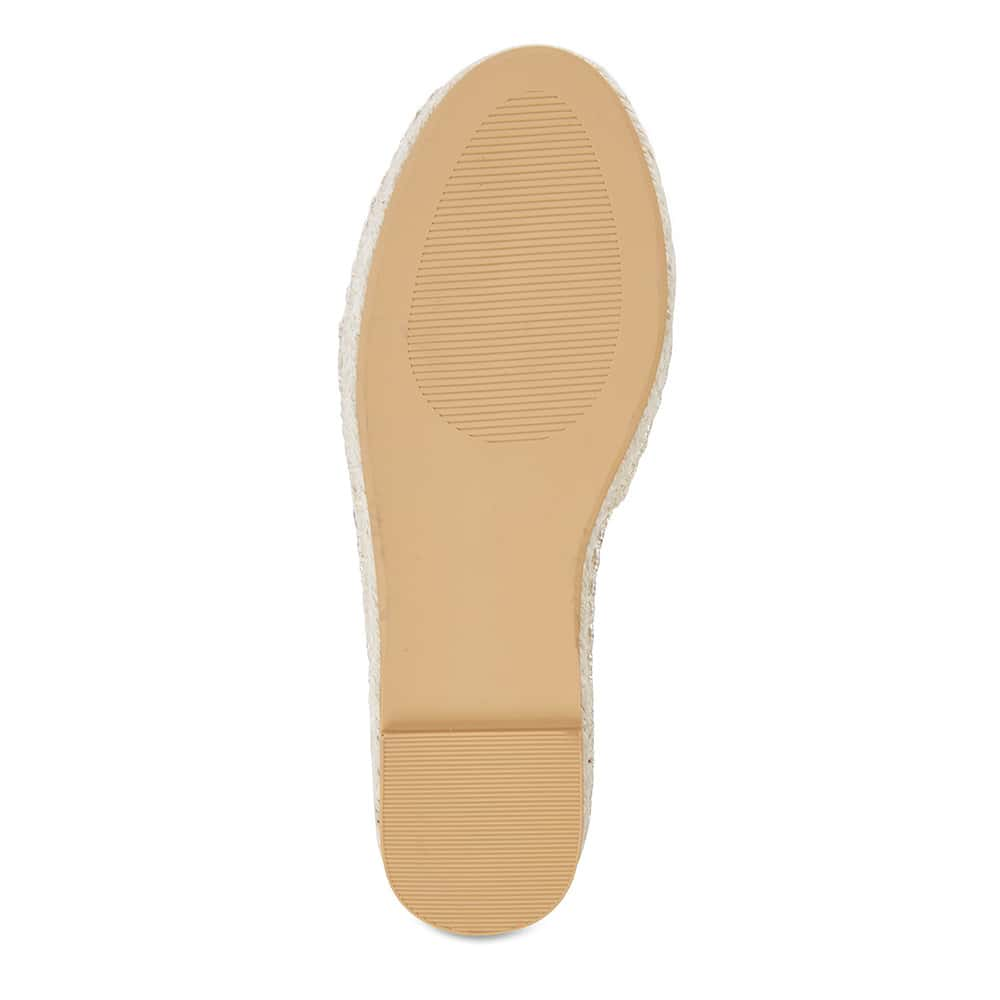 Bangkok Loafer in Soft Gold Fabric