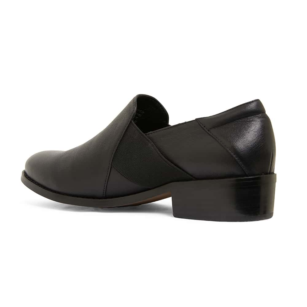 Baron Loafer in Black Leather