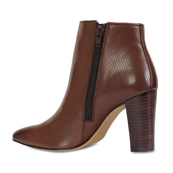 Belgium Boot in Brown Leather