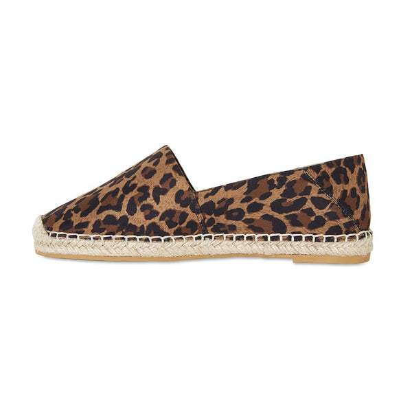 Bella Loafer in Animal Fabric