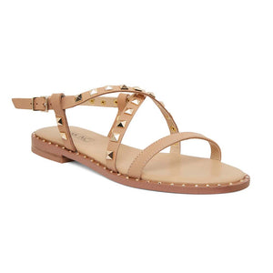 Berry Sandal in Tan  Leather