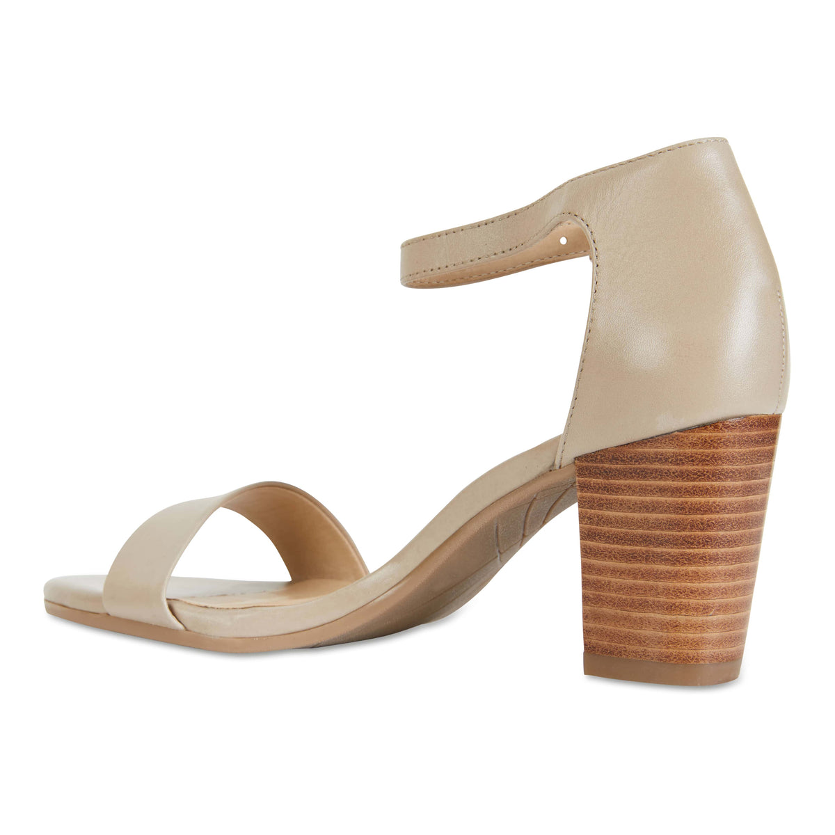 Beyond Heel in Neutral Leather