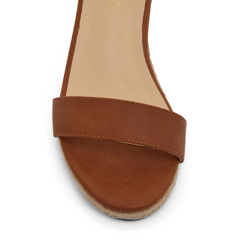 Bloom Espadrille in Tan Fabric