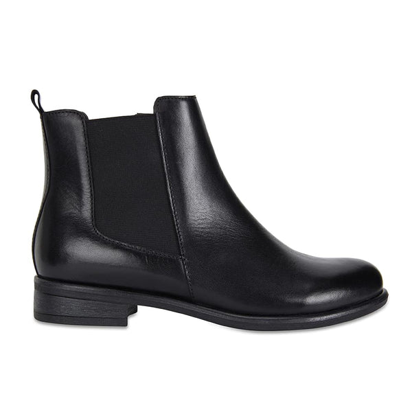 Bogart Boot in Black Leather