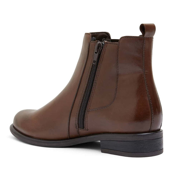 Bogart Boot in Brown Leather