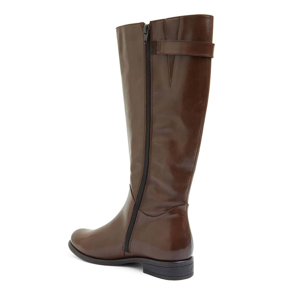 Boxter Boot in Brown Leather
