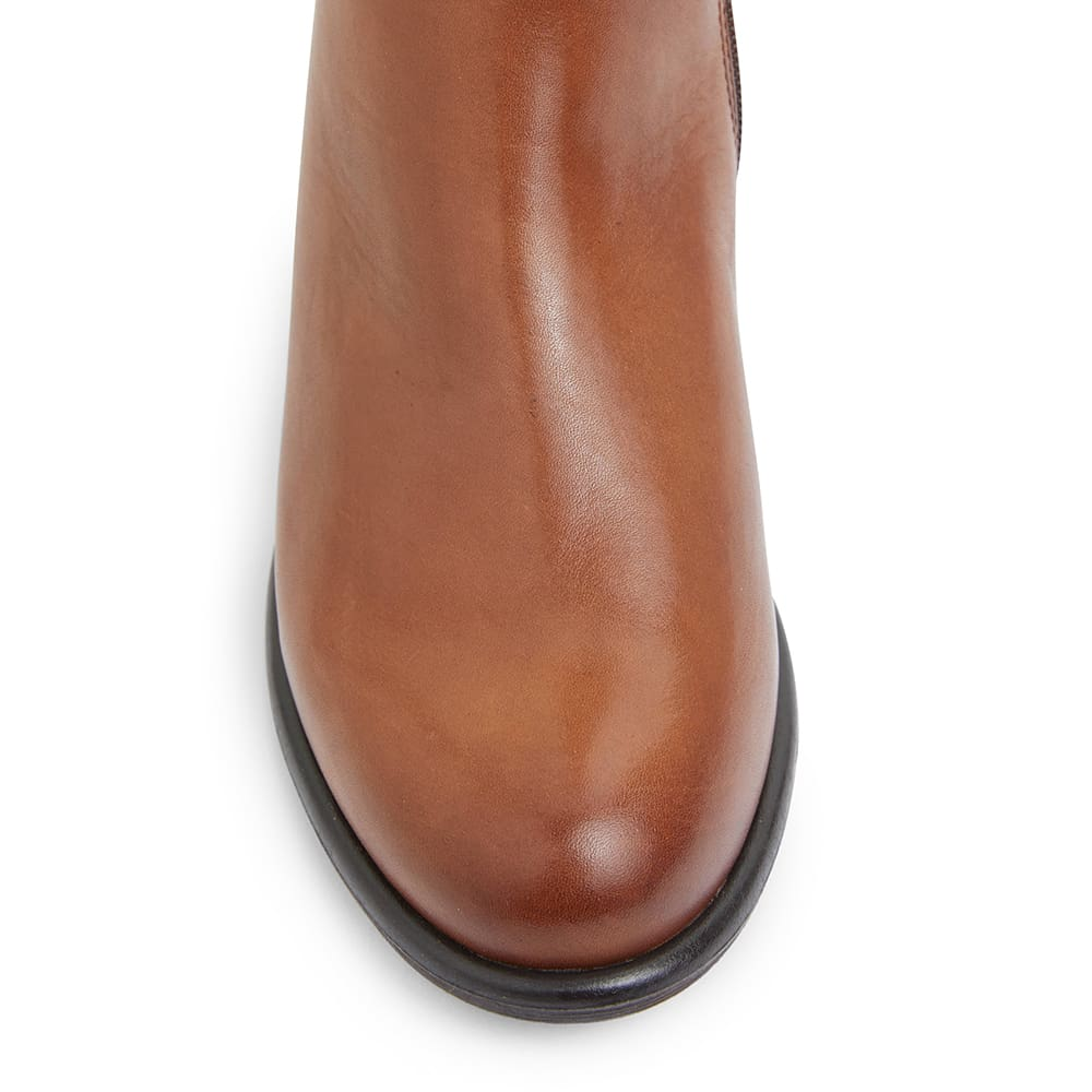 Boxter Boot in Mid Brown Leather