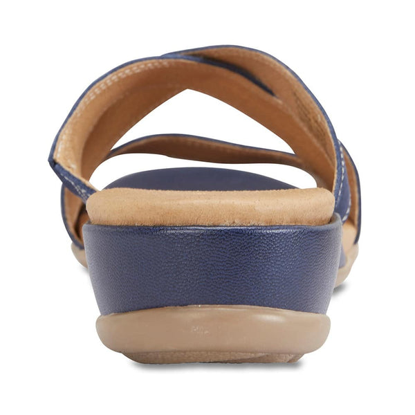 Caddy Sandal in Navy Nubuck