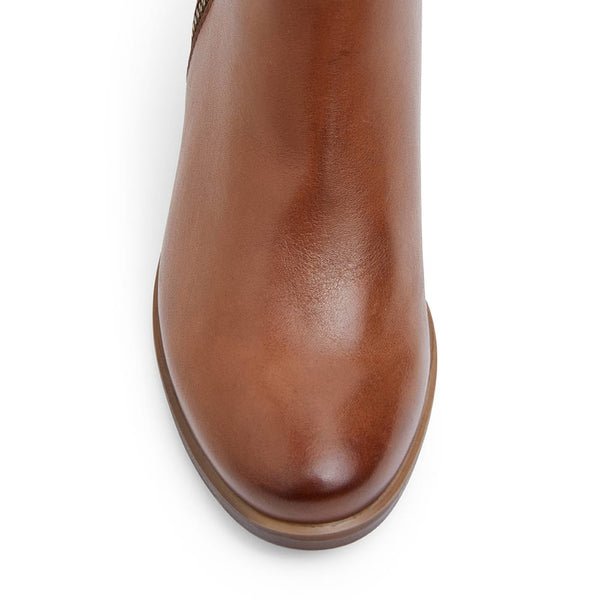 Cafe Boot in Tan Leather