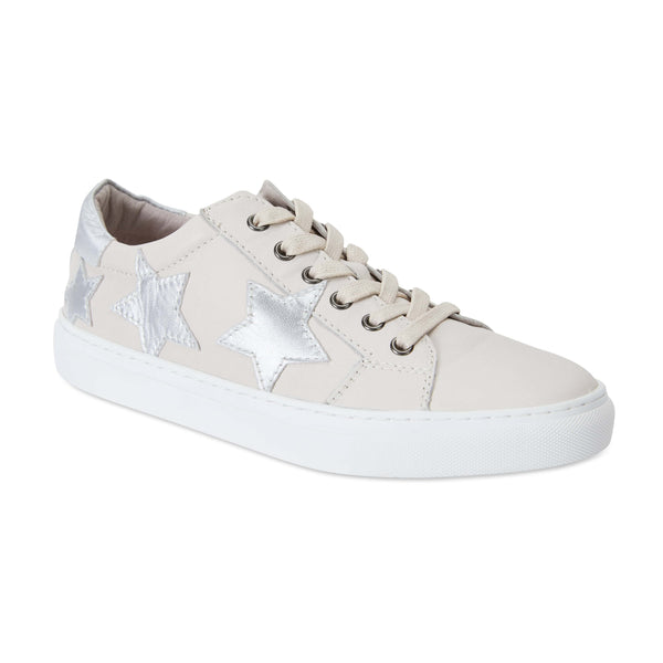 Campus Sneaker in Cream Leather