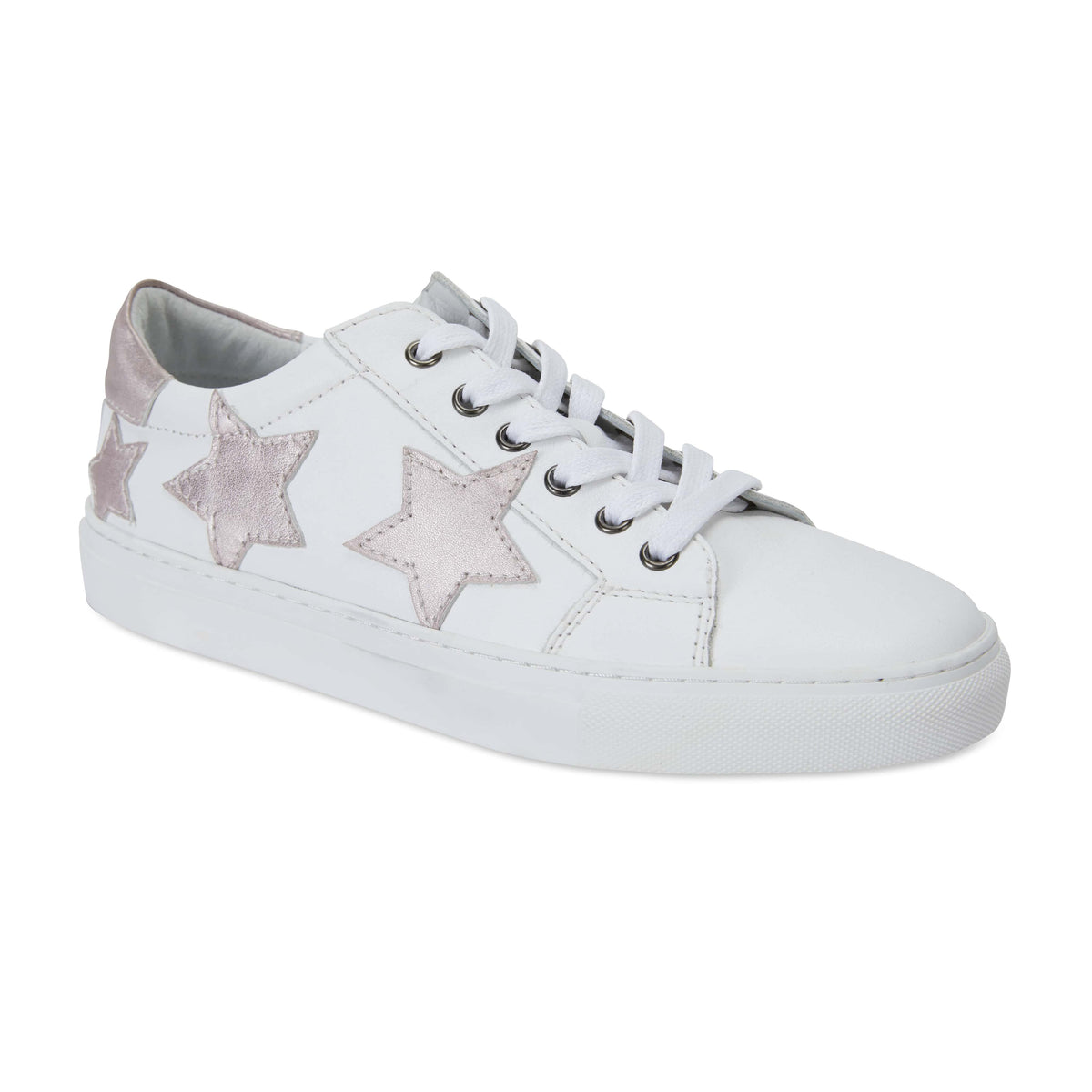 Campus Sneaker in White Leather
