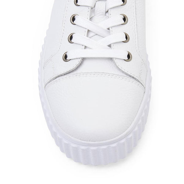 Carina Sneaker in White Leather