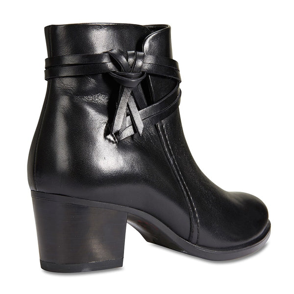 Carlton Boot in Black Leather