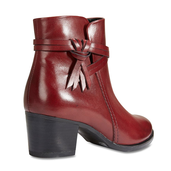 Carlton Boot in Red Leather