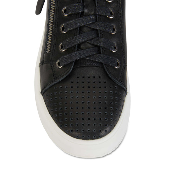 Carson Sneaker in Black Leather