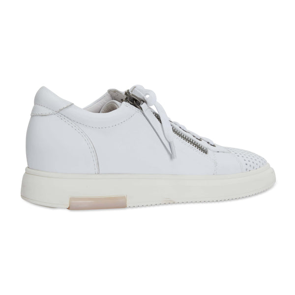Carson Sneaker in White Leather