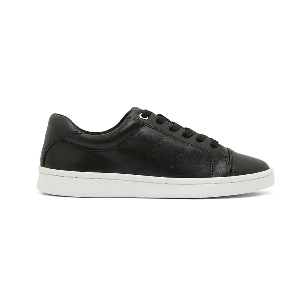Casper Sneaker in Black Leather