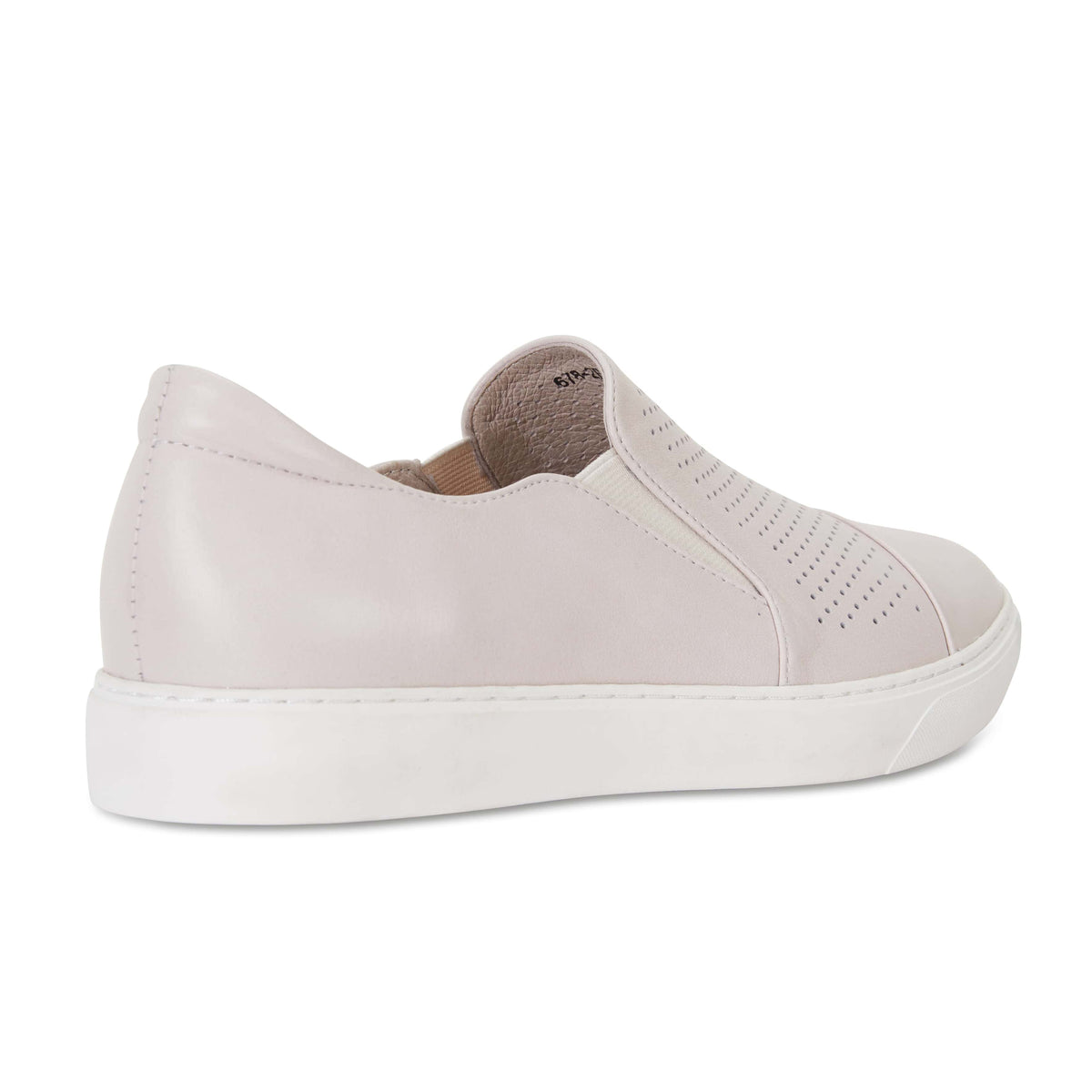 Celina Sneaker in Taupe Leather