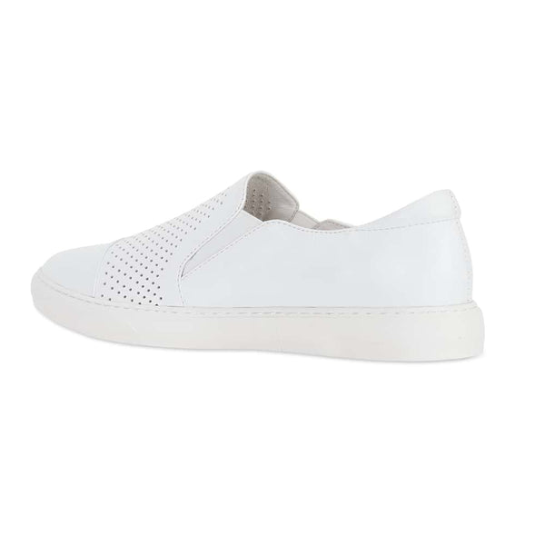 Celina Sneaker in White Leather