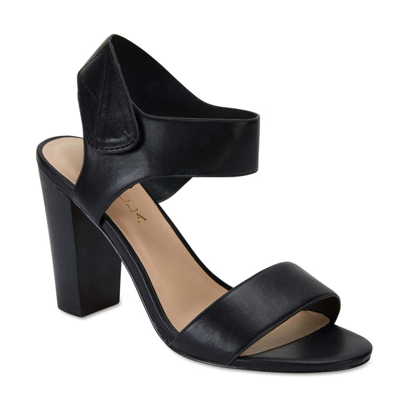 Chad Heel in Black Smooth