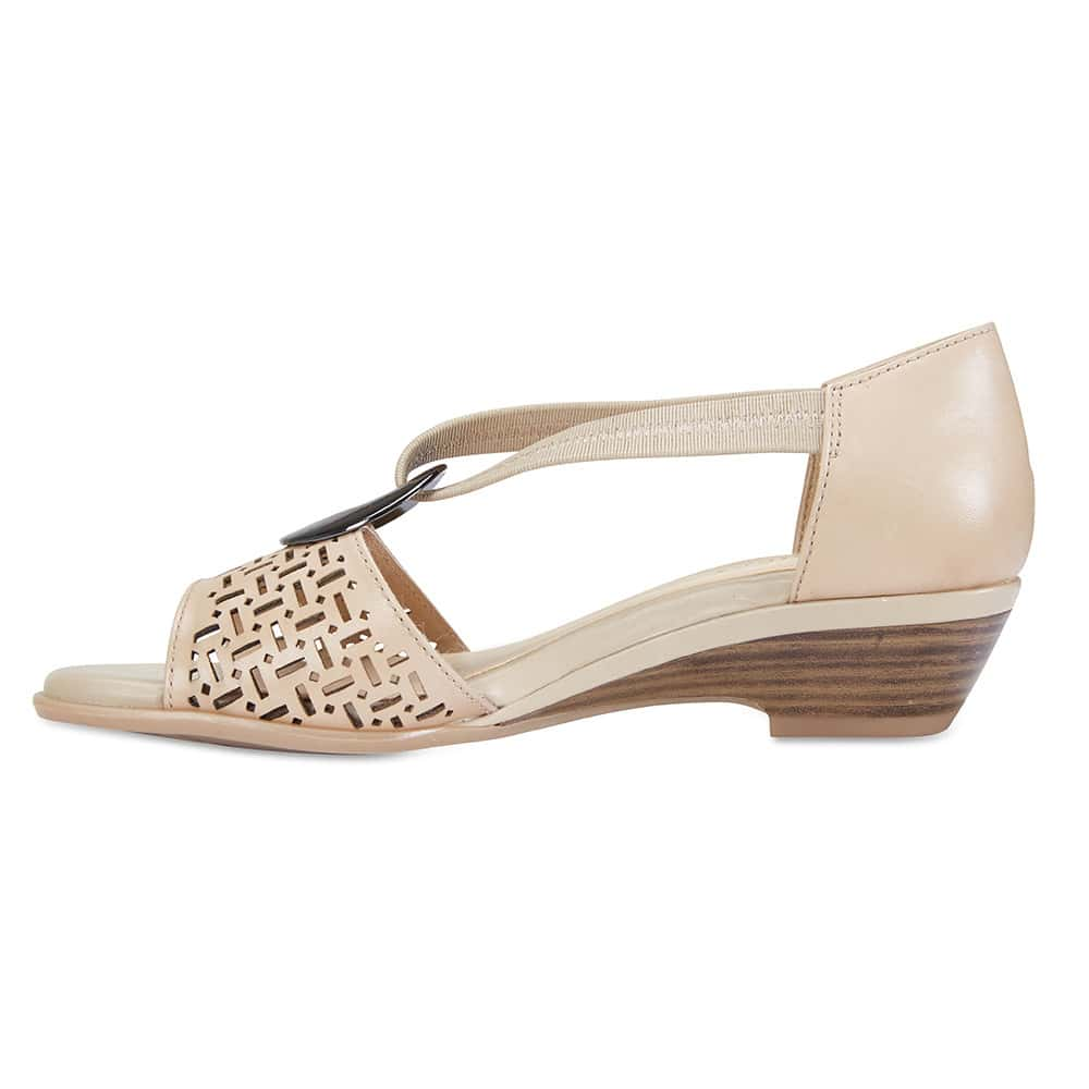 Chime Sandal in Neutral Leather
