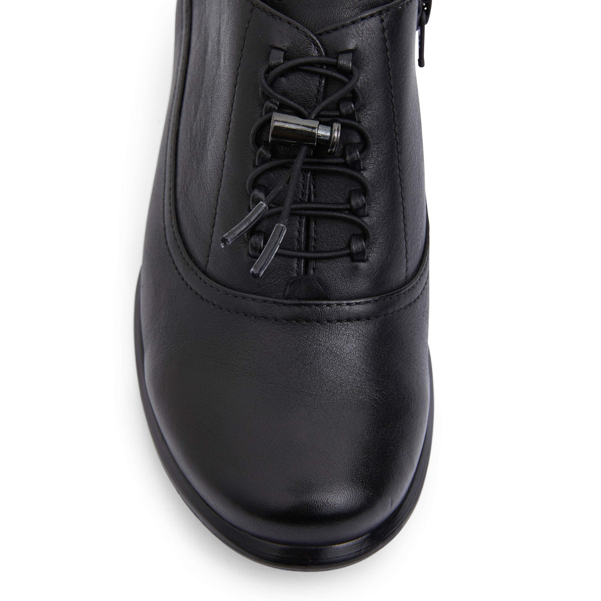 Damian Boot in Black Leather