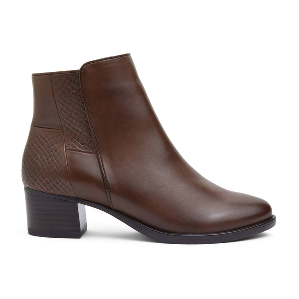 Dapper Boot in Brown Leather