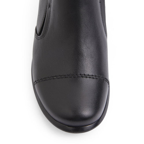 Dave Boot in Black Leather