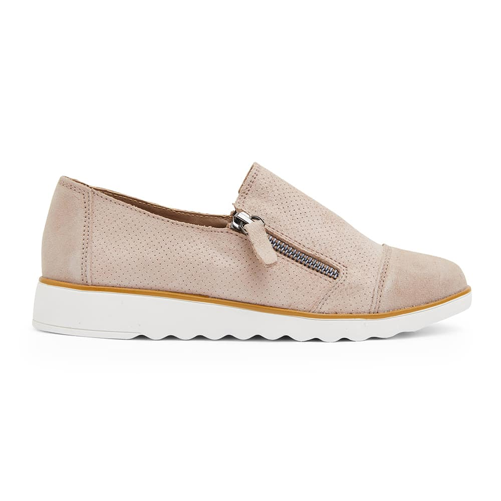 Dean Sneaker in Nude Leather