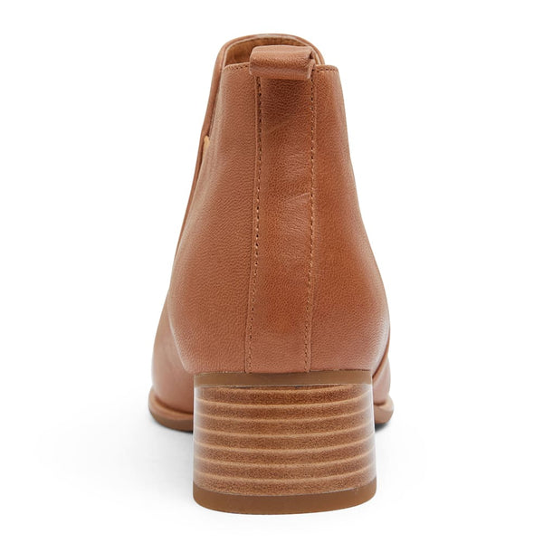 Demi Boot in Tan Leather