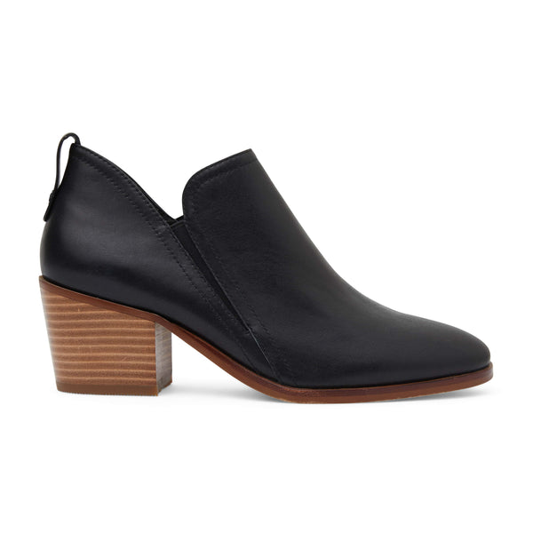Denzel Boot in Black Leather